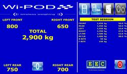 Wi-POD Main Screen