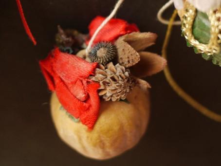 ドイツ手工芸×クリスマス飾り