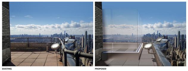 Eine Aussichtsplattform für eine New Yorker Ikone