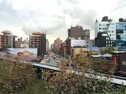 Blick vom der High Line