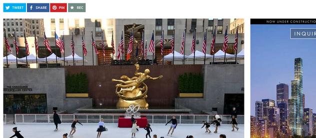 80 Jahre Eislaufen am Rockefeller Center