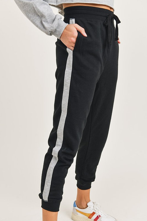Side Stripped Jogger
