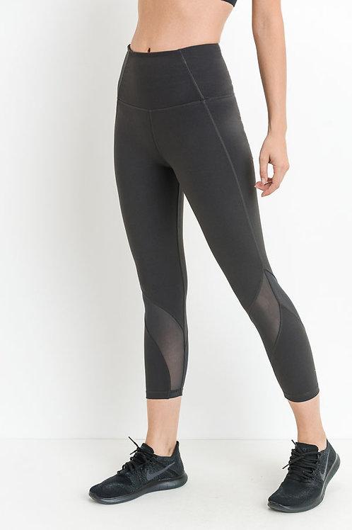 Charcoal Capri Pants