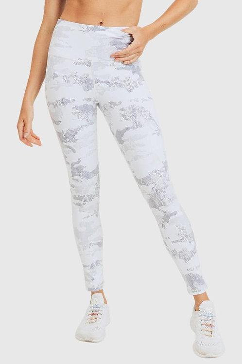Ice Camo Yoga Pants