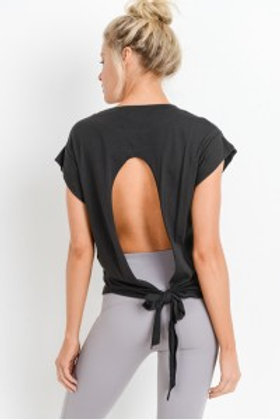 Tie Back Cut-Out Top