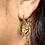 Thumbnail: Vega Snow Drop Moissanite  Earring