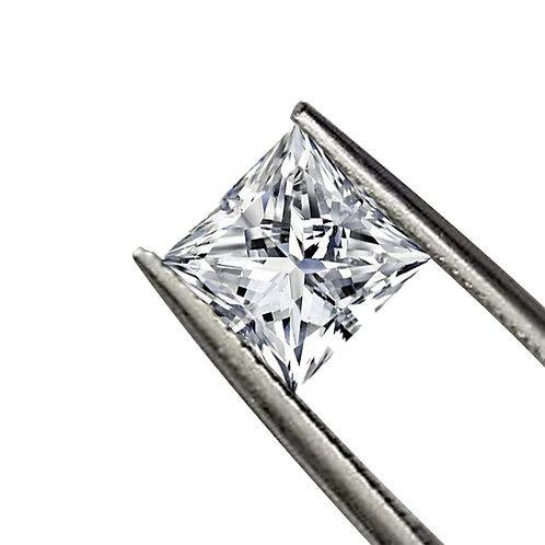 Princess Cut DEF/VVS1 Colorless Loose Moissanite Gemstone