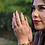 Thumbnail: Halley Reh Monogram Double Band Moissanite Statement Ring