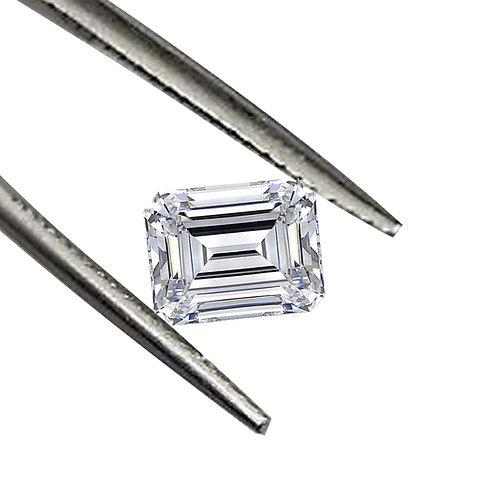 18.71ct DEW Extraordinary Emerald Cut Moissanite Loose Gemstone