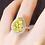 Thumbnail: 3.22 carat Hartley Halo Set Moissanite Engagement Ring