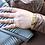 Thumbnail: HR Monogram Mesh Moissanite Charm Bracelet
