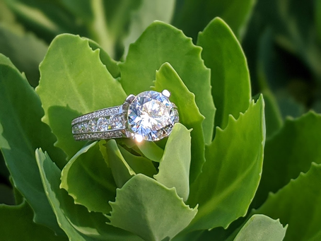 How to save up on your engagement ring purchase.