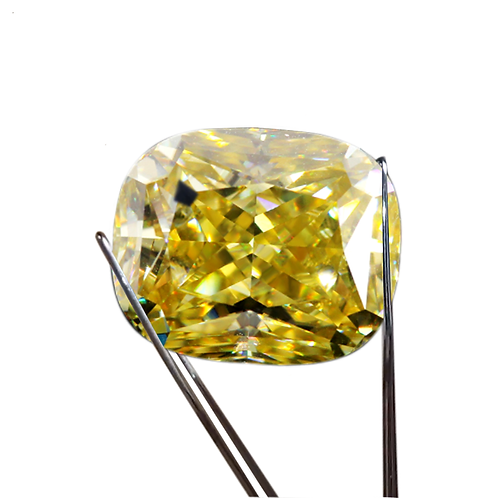 Premium Yellow Loose Moissanite