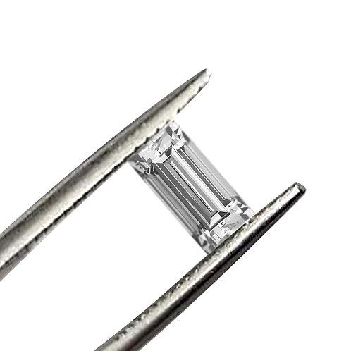 Straight Baguette Cut DEF/VVS1 Colorless Loose Moissanite Gemstone