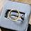 Thumbnail: Cygni Engravable Open Circle Moissanite Ring