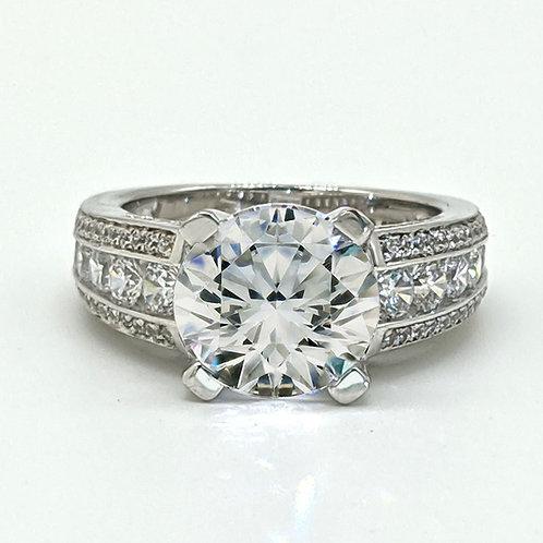 Round Brilliant Cut Engagement Ring Sample
