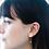 Thumbnail: Gienah Droplet Moissanite  Earring