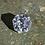Thumbnail: Premium Light Gray Asscher Cut Moissanite Loose
