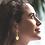 Thumbnail: Aegis Dangle Moissanite  Earring