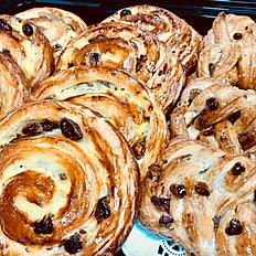 Choice of danish pastries