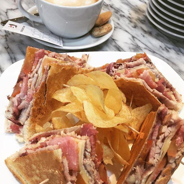 Christmas Special 🎄 Turkey Club Sandwich 😋 £4,95