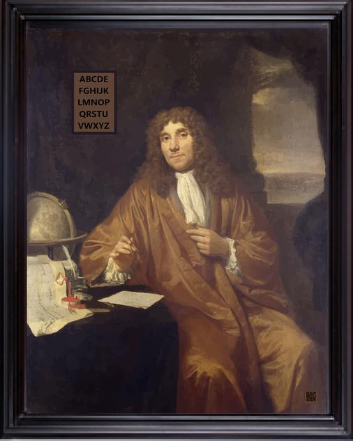 HOMAGEAntonie-van-LeeuwenhoekBYJohannes-