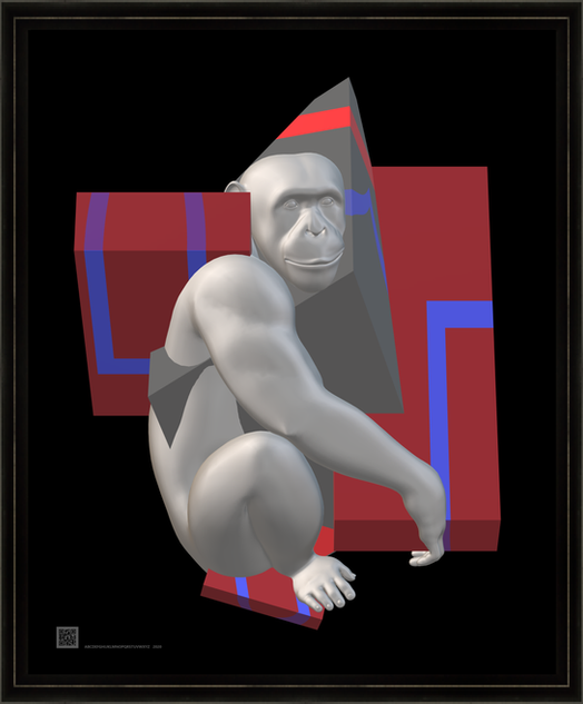 hominids3dstrps16x20FR.png