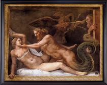eroticGiulioRomanojupitervenus16x20v219F