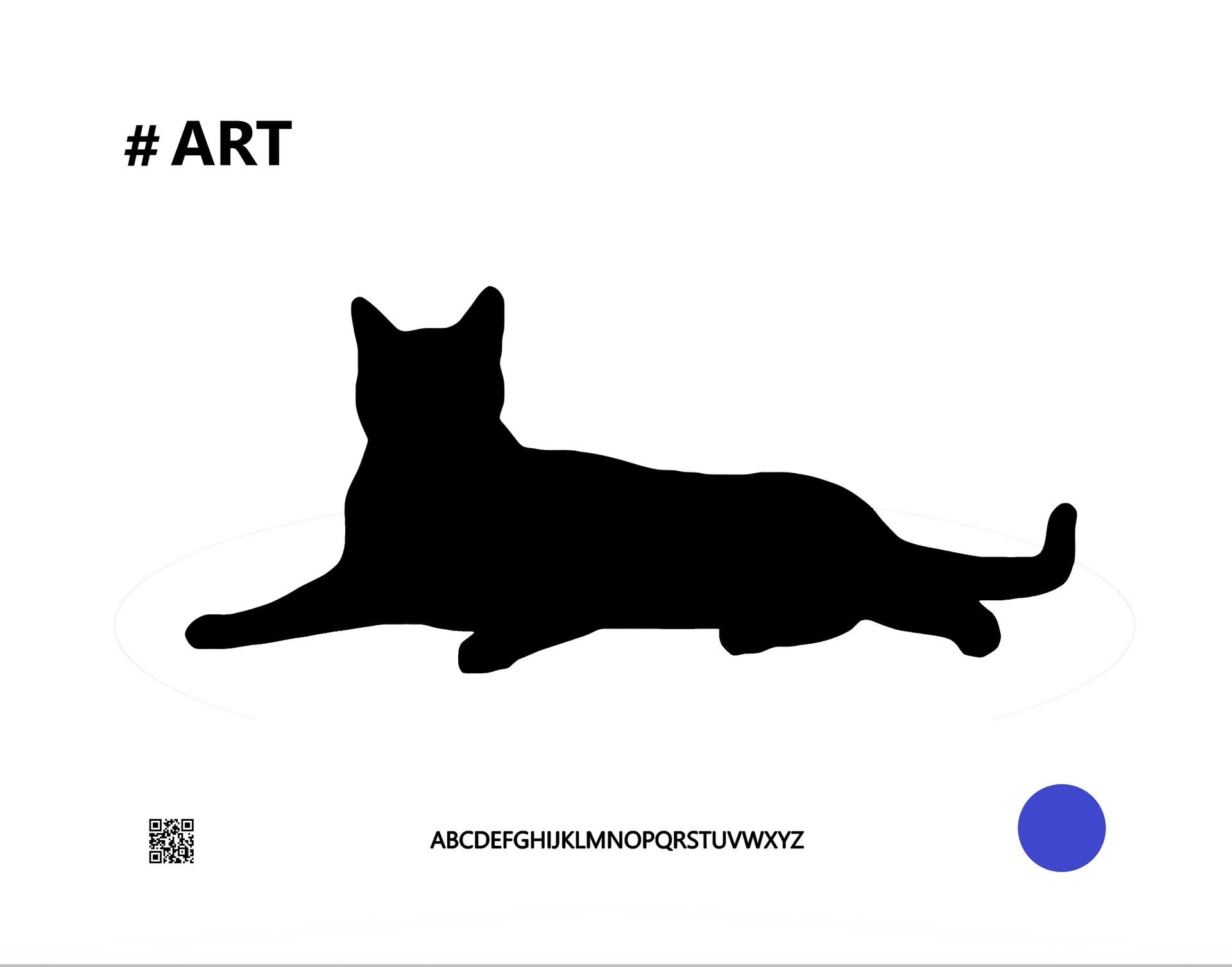catblackbcart11x14.jpg