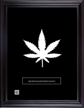 framedcannabiswhtblk11x14v2018.png