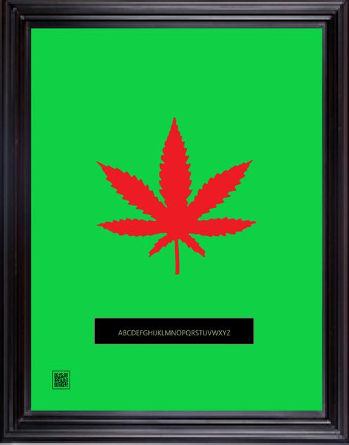 framedcannabisredgreen11X14.png