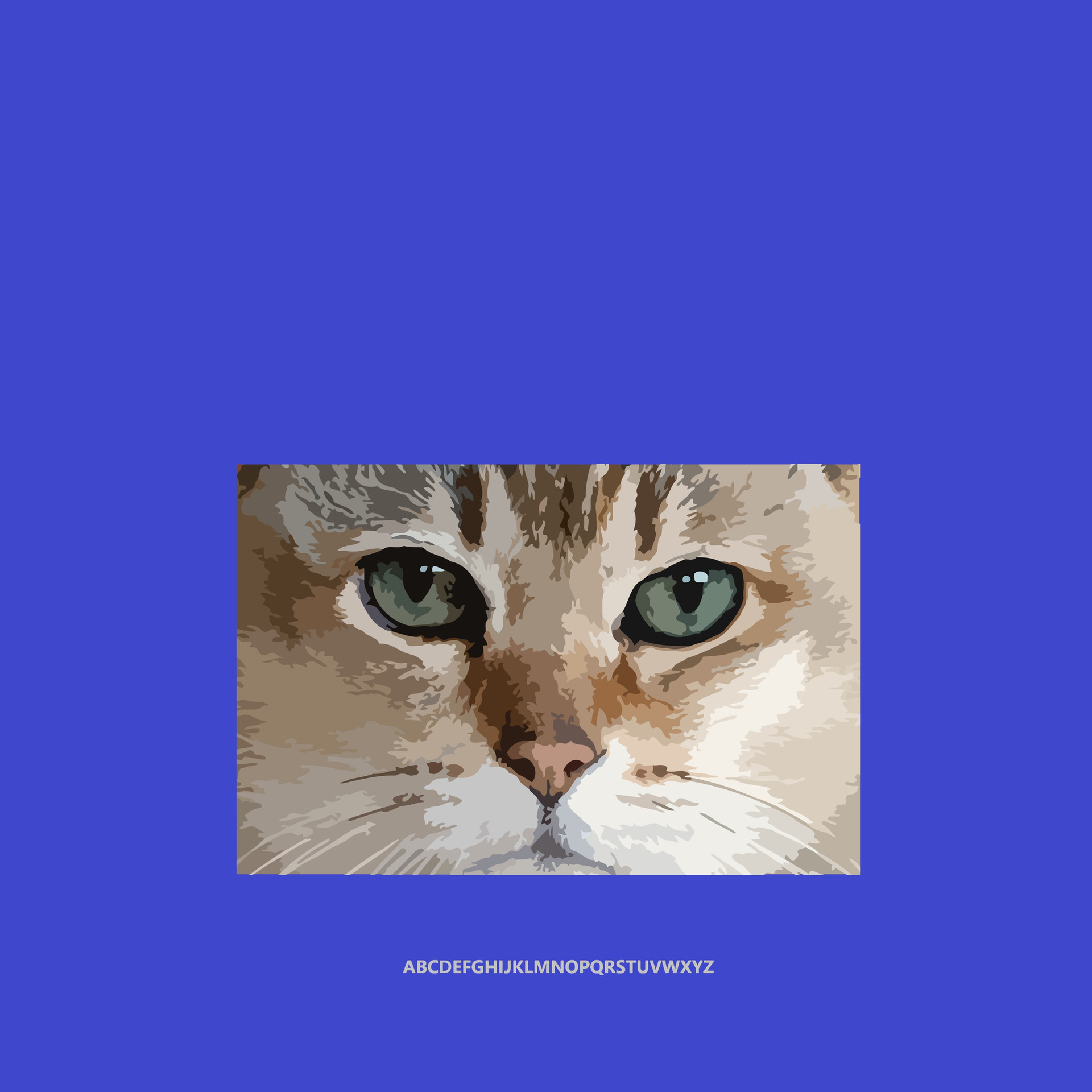 catFOURBLUE12x12.jpg