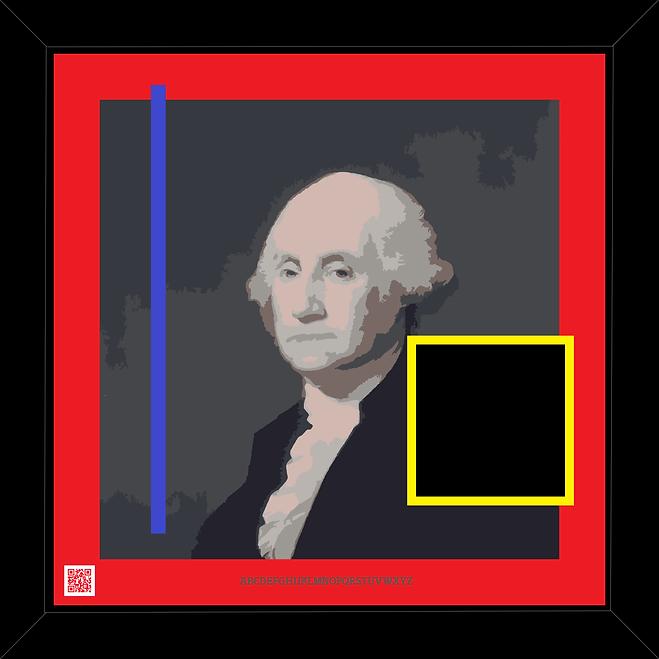 George Washington picture print