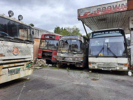 DANCE ON LOCATION 011: A Bus Graveyard in South Wales, UK