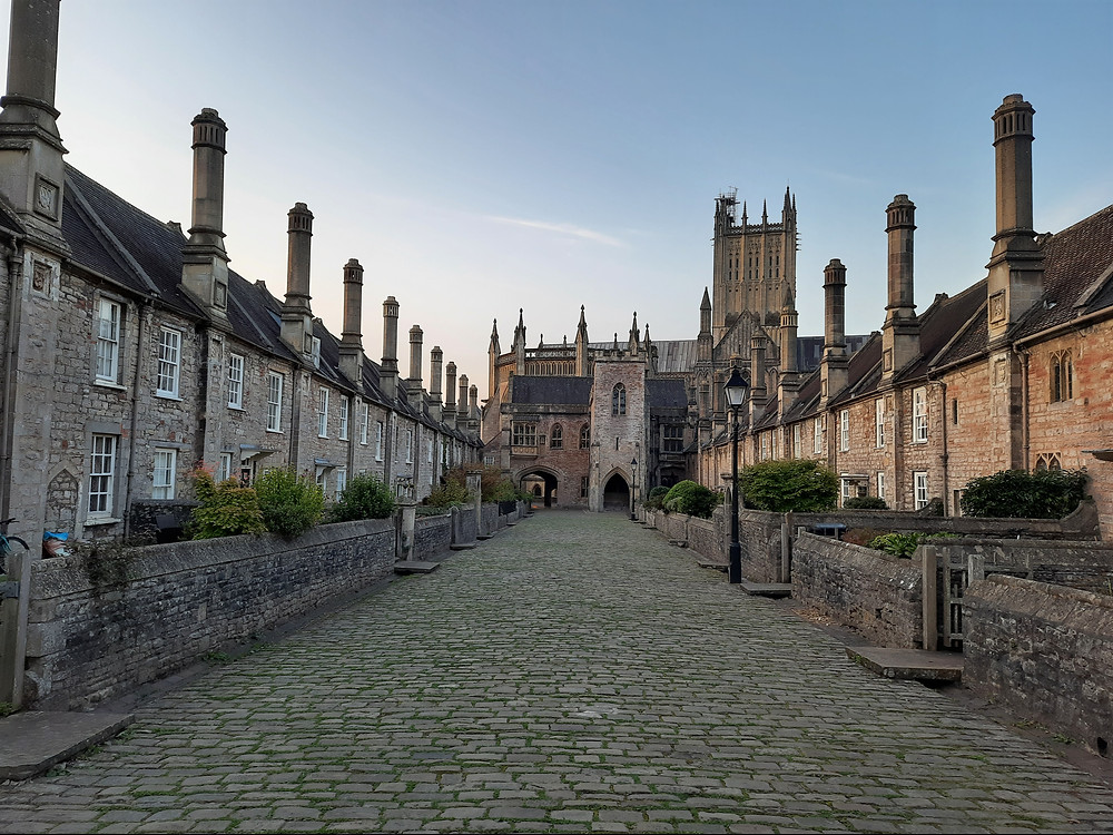 Vicars' Close, Wells, North Somerset, UK