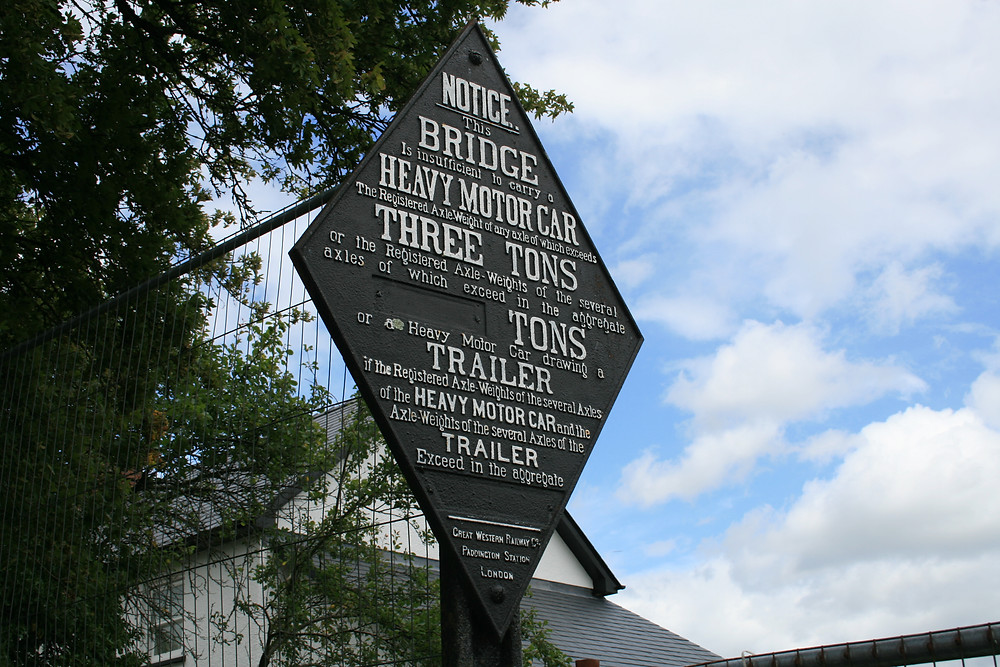 Sign, Monmouthshire and Brecon Canal
