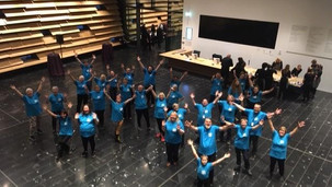 Dundee Rep Engage Flashmob at the V&A