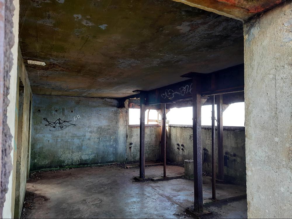 The Palmerston Fort, Brean Down, Somerset, UK