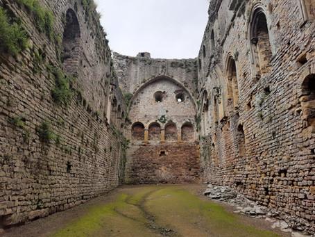 DANCE ON LOCATION 008: Chepstow Castle, Wales, UK