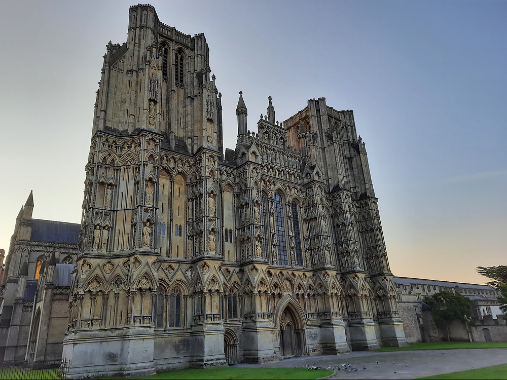 Wells Cathedral, North Somerset, UK