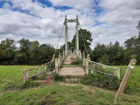 DANCE ON LOCATION 015: Sellack Suspension Footbridge, England, UK