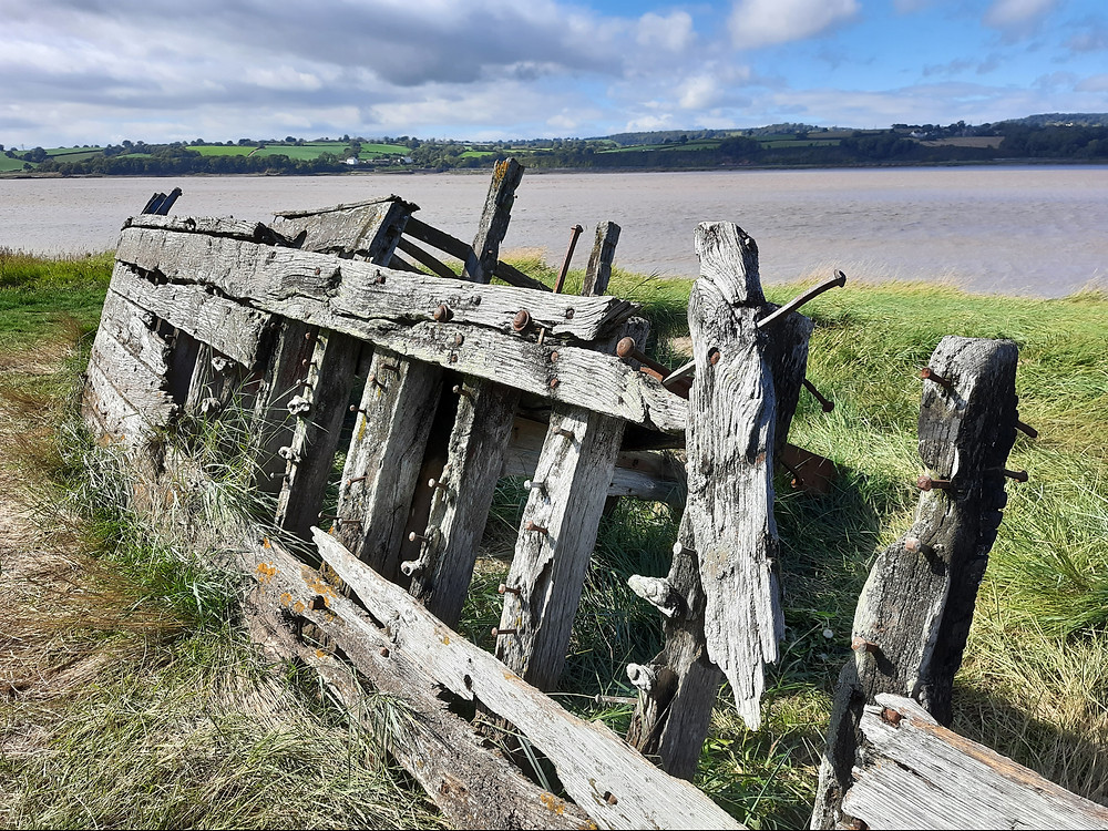 Purton's Ship Graveyard, Gloucestershire, UK