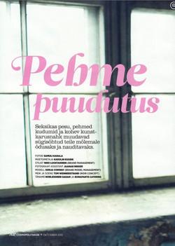 Cosmopolitan magazine Estonia