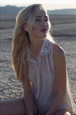 Los Angeles blonde model