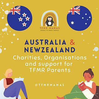 Australia & Newzealand, Orgs and Support