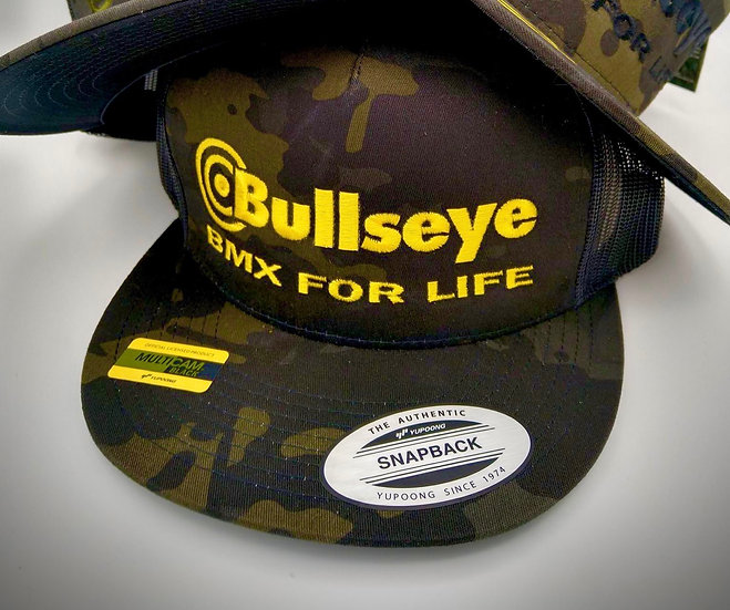 BULLSEYE  BMX FOR LIFE CAMO GOLD
