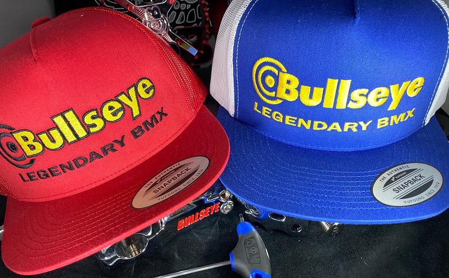Bullseye FACTORY BMX snap backs hats