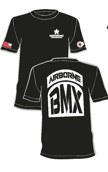 A BMX G t - shirts black 2X