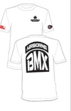 A BMX G T-Shirts white small