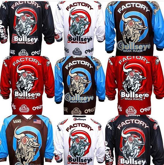 Bullseye BMX racing jersey